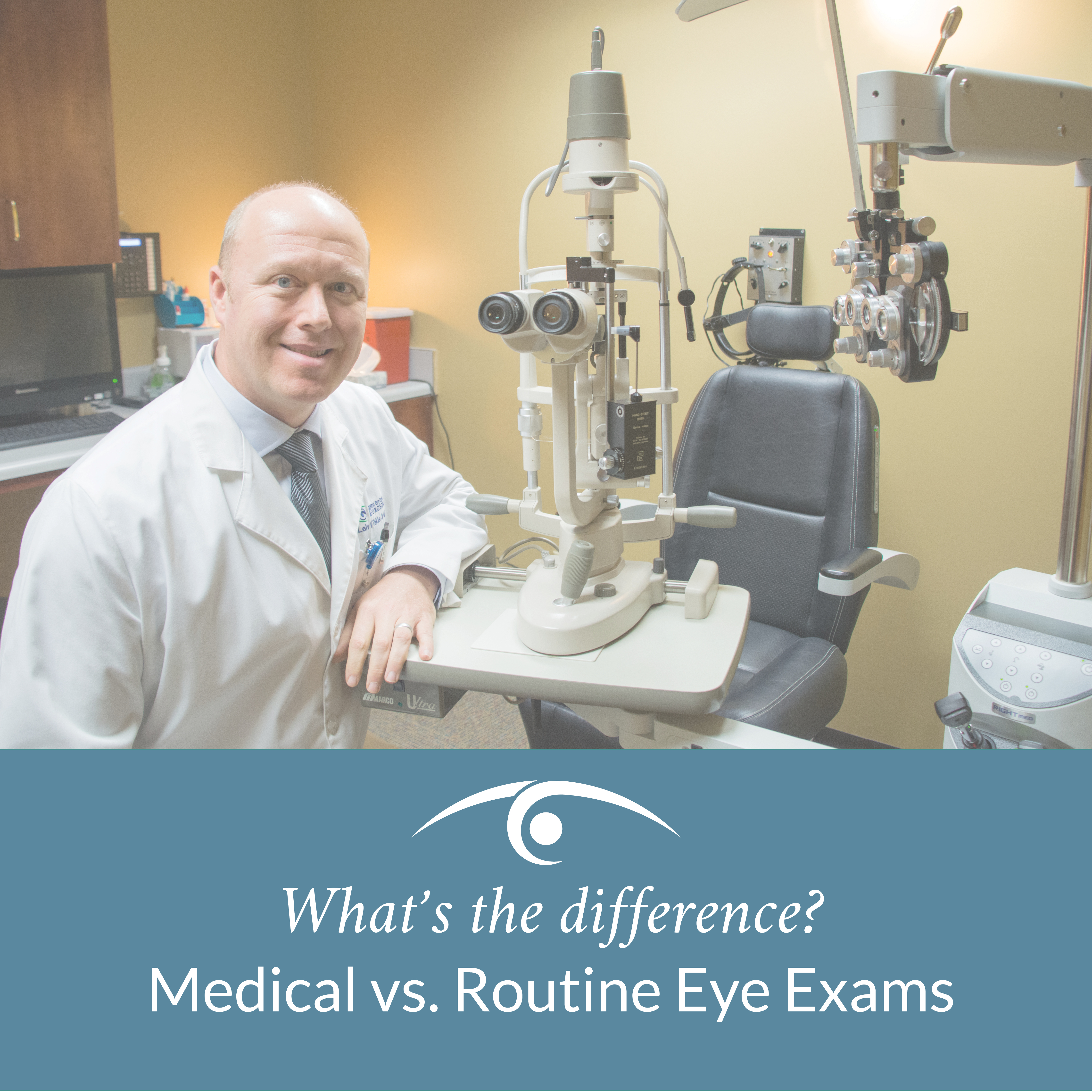 What's The Difference? Medical vs  Routine Eye Exams - Takle
